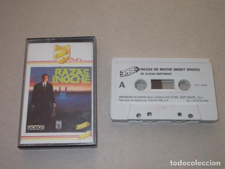 JUEGO SPECTRUM. RAZAS DE NOCHE ( NIGHT BREED). OCEAN / ERBE / MUSICAL 1 (Juguetes - Videojuegos y Consolas - Spectrum)