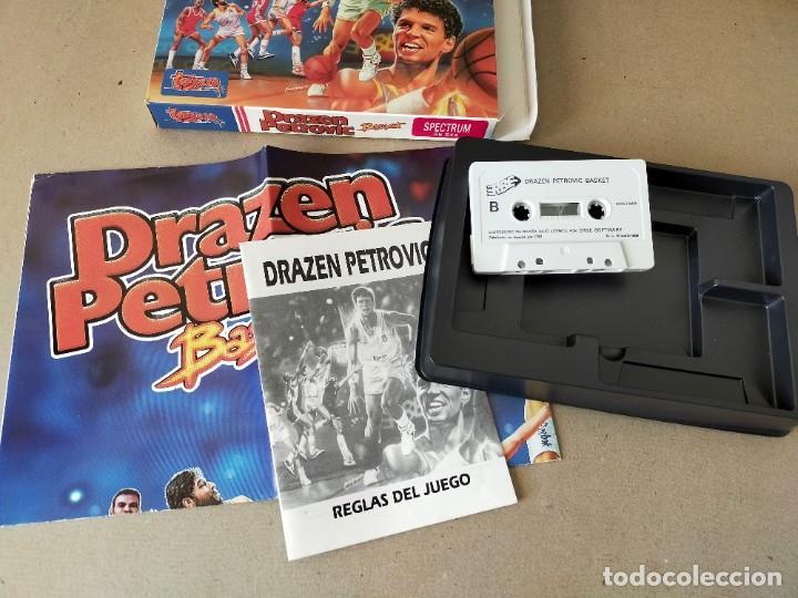 Videojuegos y Consolas: SPECTRUM. TOPO SOFT: DRAZEN PETROVIC, BASKET - ERBE TOPO SOFT 1989 EN CAJA - INCLUYE POSTER - Foto 3 - 194604908