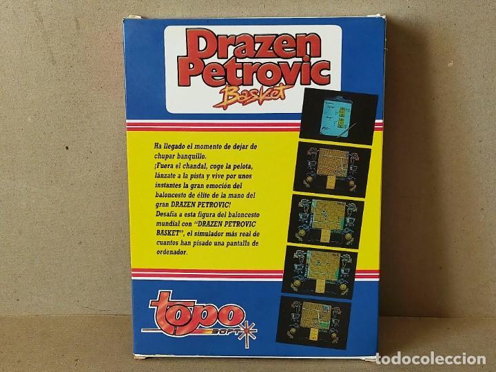 Videojuegos y Consolas: SPECTRUM. TOPO SOFT: DRAZEN PETROVIC, BASKET - ERBE TOPO SOFT 1989 EN CAJA - INCLUYE POSTER - Foto 4 - 194604908
