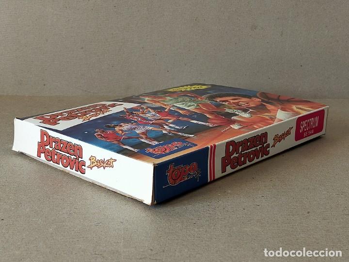 Videojuegos y Consolas: SPECTRUM. TOPO SOFT: DRAZEN PETROVIC, BASKET - ERBE TOPO SOFT 1989 EN CAJA - INCLUYE POSTER - Foto 5 - 194604908