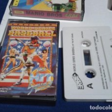 Videojuegos y Consolas: JUEGO ORDENADOR SPECTRUM ( WORLD SERIES BASEBALL BEISBOL 1989 MADE IN SPAIN ) . Lote 194641506