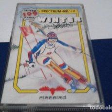 Videojuegos y Consolas: JUEGO ORDENADOR SPECTRUM ( WINTER SPORTS - ZX SPECTRUM ) COMO NUEVO. Lote 194642416