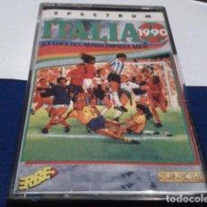 Videojuegos y Consolas: JUEGO ORDENADOR SPECTRUM ( ITALIA 1990 - ERBE ) COMO NUEVO. Lote 194642538