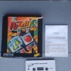 Videojuegos y Consolas: SINCLAIR ZX SPECTRUM PUZZNIC COMPLETO EN CAJA GRANDE CIB 48K 128K VER. ESPAÑOLA R10022. Lote 194774168