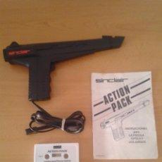 Videojuegos y Consolas: SINCLAIR ZX SPECTRUM ACTION PACK + PISTOLA GUN + MANUAL 48K 128K VER. ESPAÑOLA R10023. Lote 194774971