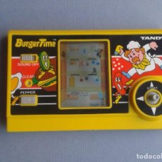 Videojuegos y Consolas: TANDY GAME&WATCH LCD GAME BURGER TIME VERY GOOD CONDITION FULL WORKING!! R10028. Lote 194786607
