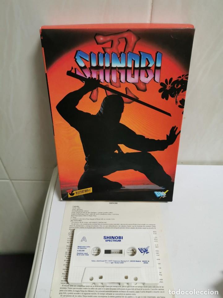 SHINOBI TESTEADO (Juguetes - Videojuegos y Consolas - Spectrum)