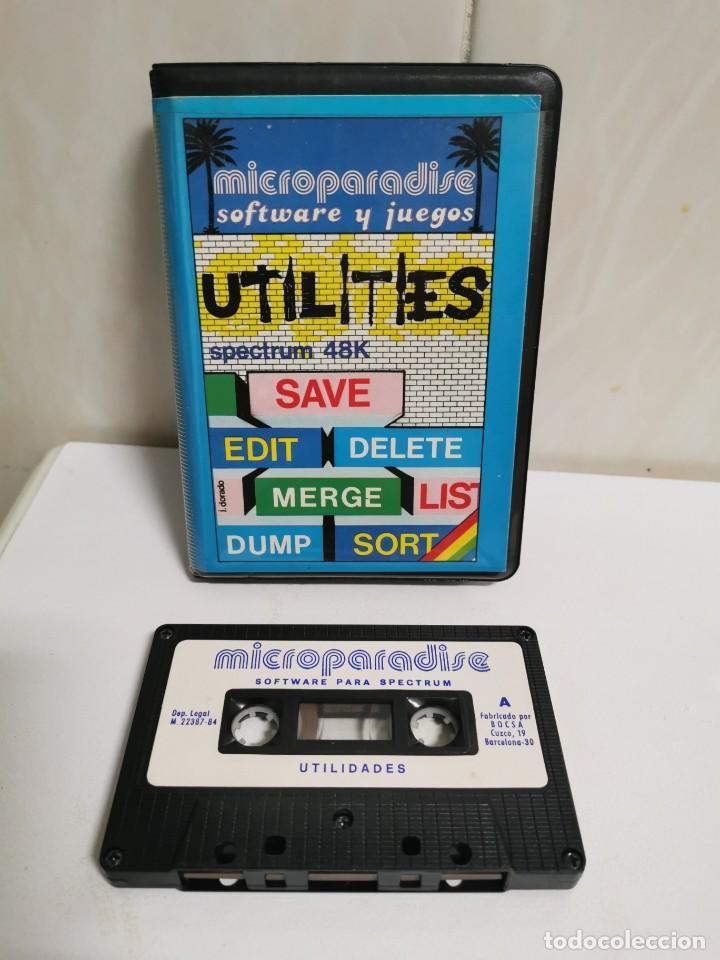 UTILIDADES ESTUCHE (Juguetes - Videojuegos y Consolas - Spectrum)