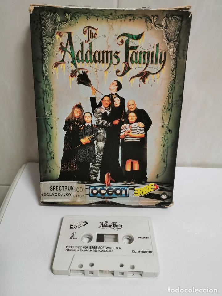 THE ADDAMS FAMILY TESTEADO (Juguetes - Videojuegos y Consolas - Spectrum)