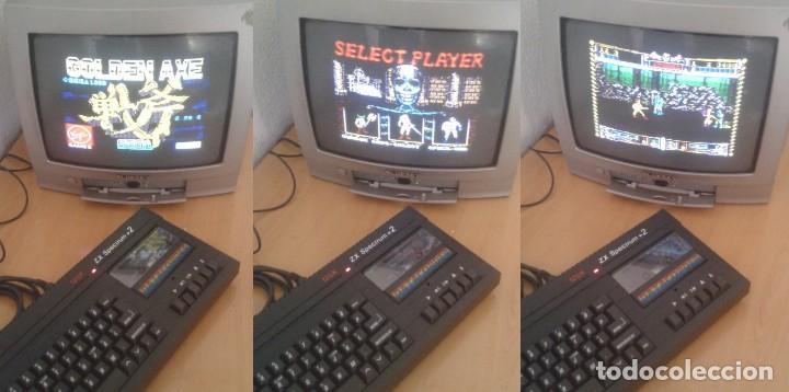 SINCLAIR ZX SPECTRUM +2A 128K FUNCIONANDO VERSION ESPAÑOLA COMPLETO MAGNIFICO!!! R10029 (Juguetes - Videojuegos y Consolas - Spectrum)
