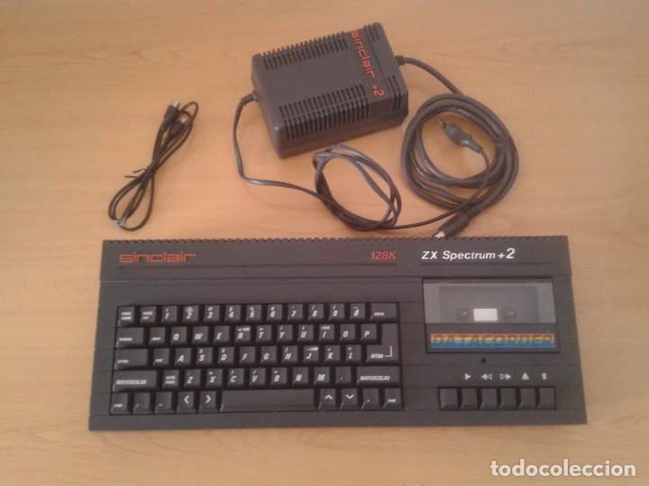 Videojuegos y Consolas: SINCLAIR ZX SPECTRUM +2A 128K FUNCIONANDO VERSION ESPAÑOLA COMPLETO MAGNIFICO!!! R10029 - Foto 2 - 194930010