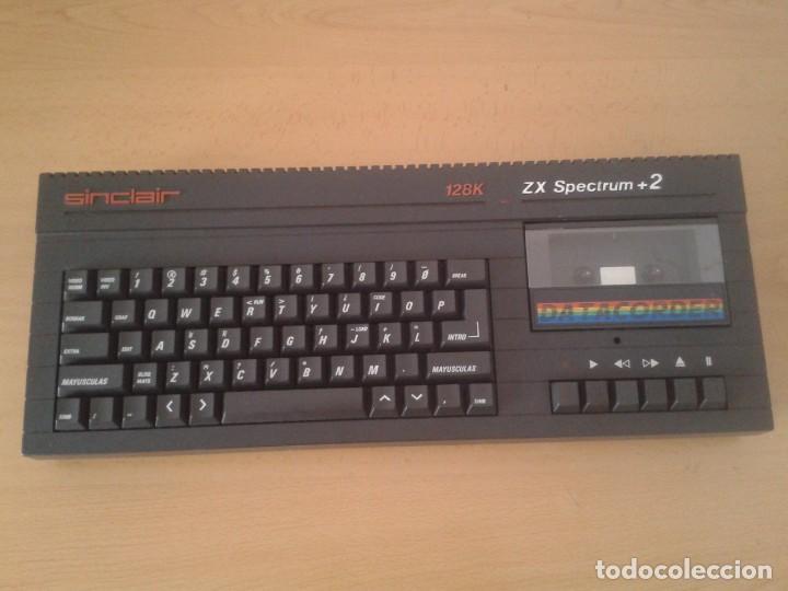 Videojuegos y Consolas: SINCLAIR ZX SPECTRUM +2A 128K FUNCIONANDO VERSION ESPAÑOLA COMPLETO MAGNIFICO!!! R10029 - Foto 5 - 194930010