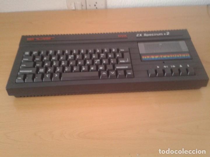 Videojuegos y Consolas: SINCLAIR ZX SPECTRUM +2A 128K FUNCIONANDO VERSION ESPAÑOLA COMPLETO MAGNIFICO!!! R10029 - Foto 6 - 194930010