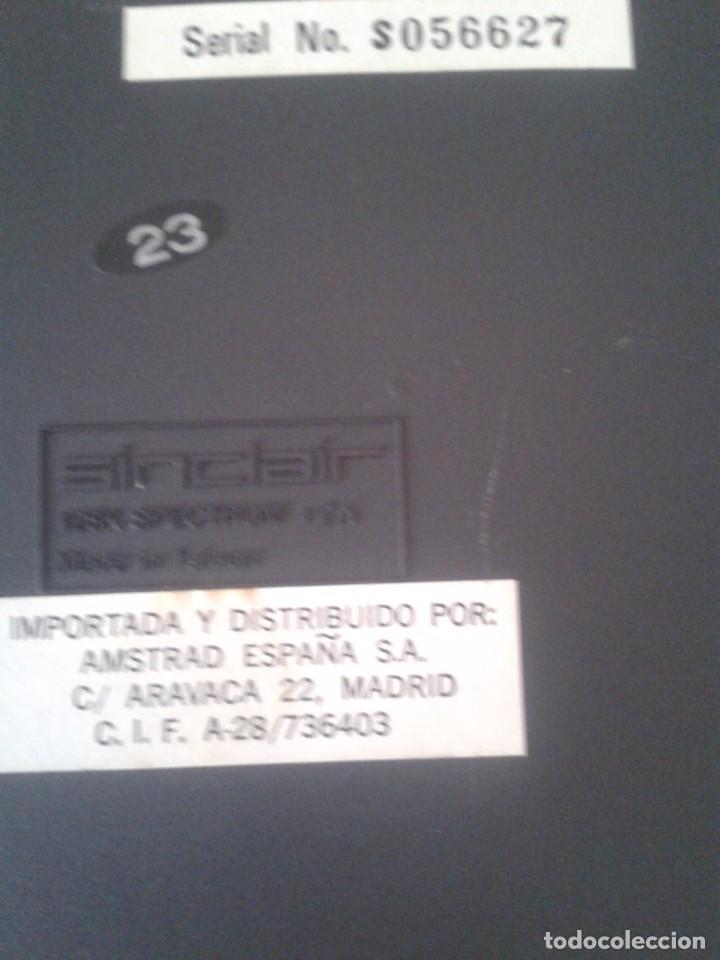 Videojuegos y Consolas: SINCLAIR ZX SPECTRUM +2A 128K FUNCIONANDO VERSION ESPAÑOLA COMPLETO MAGNIFICO!!! R10029 - Foto 11 - 194930010