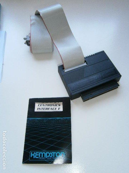 KEMPSTON CENTRONICS INTERFACE E - CON MANUAL DE INSTRUCCIONES (Juguetes - Videojuegos y Consolas - Spectrum)