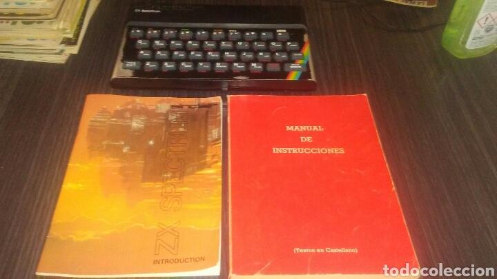 Videojuegos y Consolas: Sinclair spectrum 48K completo y funcionando instrucciones y 13 revistas microhobby ver imagenes - Foto 3 - 194992862