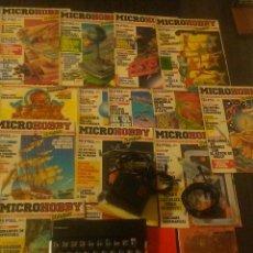 Videojuegos y Consolas: SINCLAIR SPECTRUM 48K COMPLETO Y FUNCIONANDO INSTRUCCIONES Y 13 REVISTAS MICROHOBBY VER IMAGENES. Lote 194992862