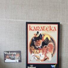 Videojuegos y Consolas: JUEGO SPECTRUM KARATEKA CARNET TELEJUEGOS Y FACTURA. Lote 195035136