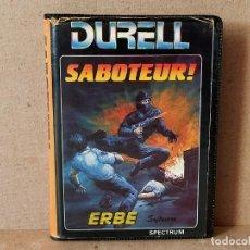 Videojuegos y Consolas: SPECTRUM. ERBE SOFTWARE JUEGO: SABOTEUR - EDICION ESPAÑOLA, CON ESTUCHE. Lote 195124457