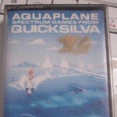 Videojuegos y Consolas: AQUAPLANE QUICKSILVA SPECTRUM BY JOHN HOLLIS - PORTAL DEL COL·LECCIONISTA *****. Lote 195399362