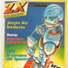 Jeux Vidéo et Consoles: ZX REVISTA PARA LOS USUARIOS DE ORDENADORES SINCLAIR. Nº 32. JULIO-AGOSTO 1986. (Z/28). Lote 195890173