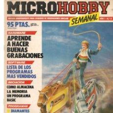 Videojogos e Consolas: MICROHOBBY SEMANAL. Nº 9. ENERO 1985. (Z/28). Lote 195940655