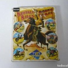 Videojuegos y Consolas: BUFFALO BILLS / CAJA CARTÓN / SINCLAIR ZX SPECTRUM / RETRO VINTAGE / CASSETTE - CINTA. Lote 197818367