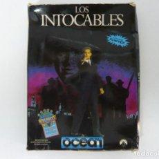Videojuegos y Consolas: LOS INTOCABLES / CAJA CARTÓN / SINCLAIR ZX SPECTRUM / RETRO VINTAGE / CASSETTE - CINTA. Lote 197819426