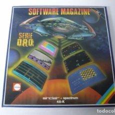 Videojuegos y Consolas: SOFTWARE MAGAZINE SERIE ORO / CAJA CARTÓN / SINCLAIR ZX SPECTRUM / RETRO VINTAGE / CASSETTE - CINTA. Lote 197819886