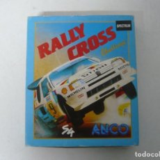 Videojogos e Consolas: RALLY CROSS / CAJA CARTÓN / SINCLAIR ZX SPECTRUM / RETRO VINTAGE / CASSETTE - CINTA. Lote 197820273