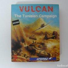 Videojogos e Consolas: VULCAN / CAJA CARTÓN / SINCLAIR ZX SPECTRUM / RETRO VINTAGE / CASSETTE - CINTA. Lote 197820548
