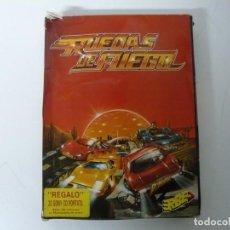 Videojuegos y Consolas: PACK RUEDAS DE FUEGO / SINCLAIR ZX SPECTRUM / RETRO VINTAGE / CASSETTE - CINTA. Lote 197820691