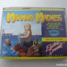 Videogiochi e Consoli: MERMAID MADNESS / JEWEL CASE / SINCLAIR ZX SPECTRUM / RETRO VINTAGE / CASSETTE - CINTA. Lote 197821598