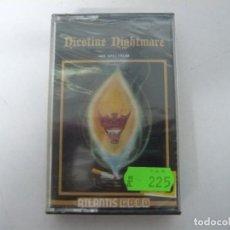 Videojogos e Consolas: NICOTINE NIGHTMARE / NUEVO - PRECINTADO / SINCLAIR ZX SPECTRUM / RETRO VINTAGE / CASSETTE - CINTA. Lote 197824703
