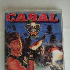 Videojuegos y Consolas: JUEGO SPECTRUM CABAL. CAJA GRANDE PLASTICO SERIE 5 ESTRELLAS ERBE. Lote 198847331