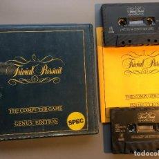 Videojuegos y Consolas: TRIVIAL PURSUIT - JUEGO SPECTRUM 48K. Lote 199093166