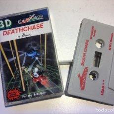 Videojuegos y Consolas: 3D DEATHCHASE - JUEGO PARA SPECTRUM 48K. Lote 199100322