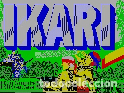 Videojuegos y Consolas: IKARI Warriors [Elite System] 1988 SNK / MCM Software [Zx Spectrum] - Foto 3 - 41858846