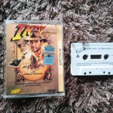 Videojuegos y Consolas: JUEGO SPECTRUM INDIANA JONES Y LA ÚLTIMA CRUZADA. Lote 199952202