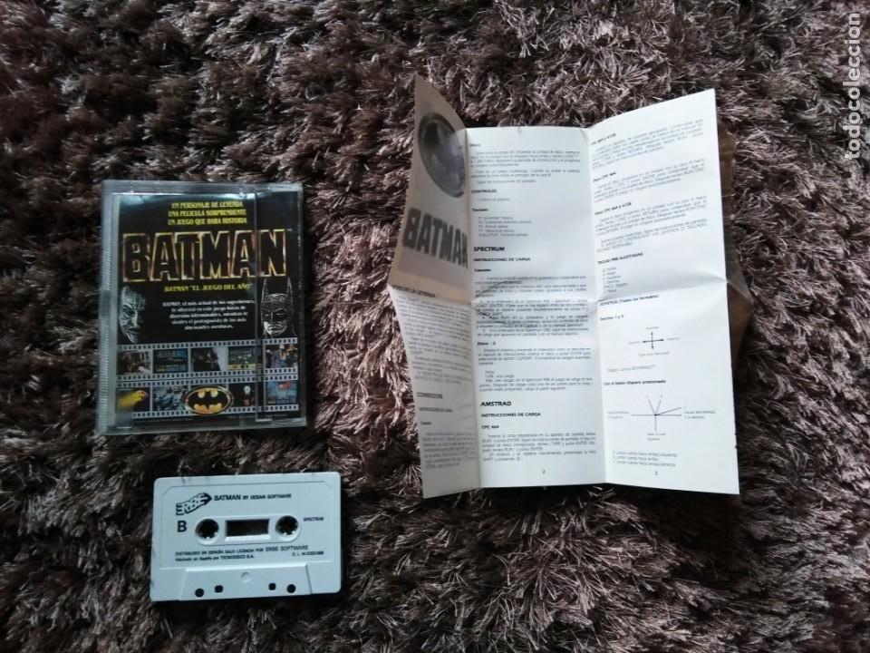 Videojuegos y Consolas: Juego Spectrum Batman - Foto 2 - 199953601
