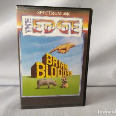Videojuegos y Consolas: SPECTRUM 48K - BRIAN BLOODAXE - THE EDGE - 1984. Lote 200039386