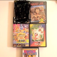 Videojuegos y Consolas: SPECTRUM- THREE WEEKS IN PARADISE - BRUCE LEE -TRIO - SPY HUNTER. Lote 176915170