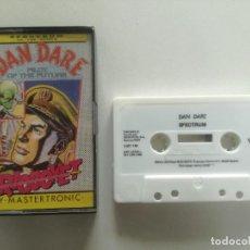 Videojuegos y Consolas: DAN DARE - JUEGO SPECTRUM CASETE ERBRE 1988 // SINCLAIR CASSETTE. Lote 200636443