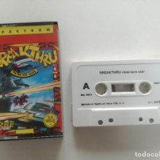 Videojuegos y Consolas: BREAKTHRU - JUEGO SPECTRUM CASETE ERBRE 1986 // SINCLAIR CASSETTE. Lote 200637668