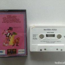 Videojuegos y Consolas: PINK PANTHER - JUEGO SPECTRUM CASETE ERBRE 1988 // SINCLAIR CASSETTE. Lote 200641267
