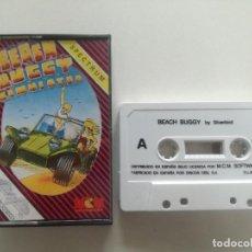 Videojuegos y Consolas: BEACH BUGGY SIMULATOR - JUEGO SPECTRUM CASETE MCM 1986 // SINCLAIR CASSETTE. Lote 200641742