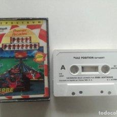 Videojuegos y Consolas: POLE POSITION - JUEGO SPECTRUM CASETE ERBRE 1985 // SINCLAIR CASSETTE. Lote 200736692