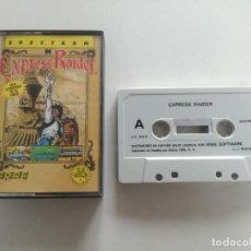 Videojuegos y Consolas: EXPRESS RIDER - JUEGO SPECTRUM CASETE ERBRE 1986 // SINCLAIR CASSETTE. Lote 200736918