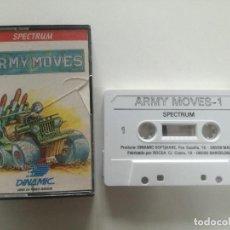 Videojuegos y Consolas: ARMY MOVES - JUEGO SPECTRUM CASETE ERBRE 1986 // SINCLAIR CASSETTE. Lote 200737167