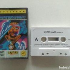 Videojuegos y Consolas: WINTER GAMES - JUEGO SPECTRUM CASETE ERBRE 1987 // SINCLAIR CASSETTE. Lote 200737512